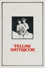 Poster Fellini Satyricon 1969