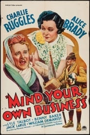 Affiche de Film Mind Your Own Business