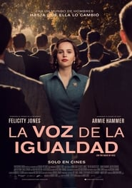 Imagen La voz de la igualdad (2018) | On the Basis of Sex