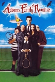 Poster Addams Family Reunion 1998