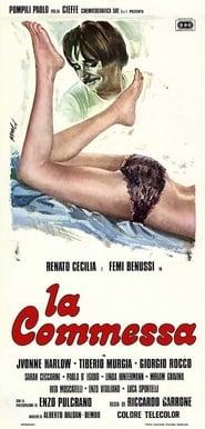 Poster La commessa 1975