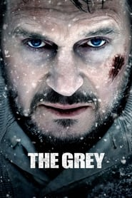 Poster for the movie, 'The Grey'