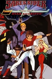 Poster Saber Rider and the Star Sheriffs 1988