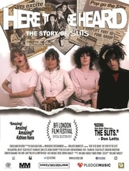 Here to be Heard: The Story of The Slits (2018)