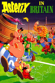 Poster Asterix in Britain 1986