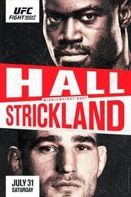 UFC on ESPN 28: Hall vs. Strickland