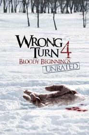 poster Wrong Turn 4: Bloody Beginnings