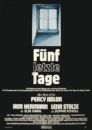 Fünf letzte Tage (1982)