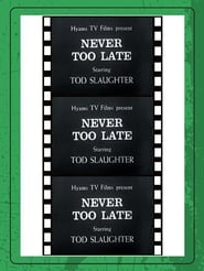 Poster It's Never Too Late to Mend 1937