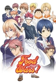 Poster Food Wars! Shokugeki no Soma - The Fourth Plate 2020