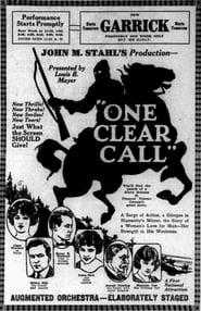 One Clear Call 1922
