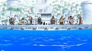 One Piece Season 13 Episode 459 : Ticking Down to the Time of Battle! The Navy's Strongest Lineup in Position!