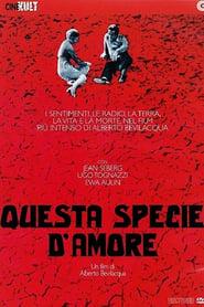 Poster Questa specie d'amore 1972