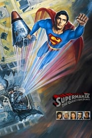Poster for Superman IV: The Quest for Peace
