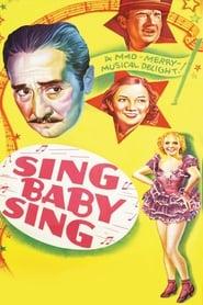 Poster Sing, Baby, Sing 1936