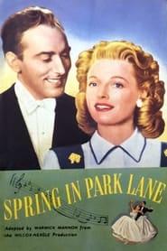 Spring in Park Lane 1948