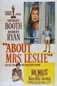 Addio signora Leslie 1954