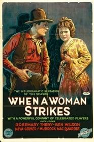 When a Woman Strikes