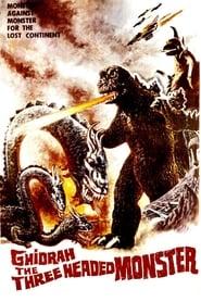 Poster Ghidorah, the Three-Headed Monster 1964
