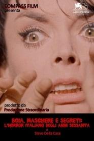 Boia, maschere e segreti: l'horror italiano degli anni sessanta 2019