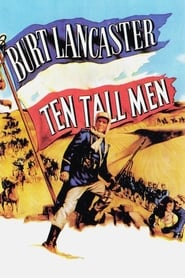 Poster Ten Tall Men 1951