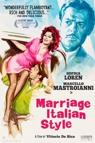 Marriage Italian Style (1964) Poster