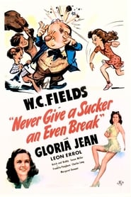DVD cover image for Never give a sucker an even break