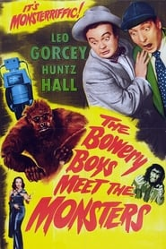Poster The Bowery Boys Meet the Monsters 1954