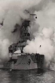 Battleship Odin Firing All Her Guns 1900