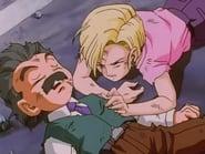 La gran alianza: El ataque combinado de Goku y C-18