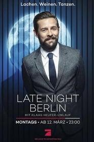 Poster Late Night Berlin 2018