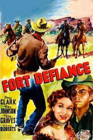 Poster Fort Defiance 1951