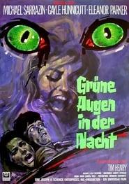 Grüne Augen in der Nacht