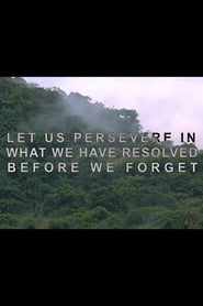 Let Us Persevere in What We Have Resolved Before We Forget 2013