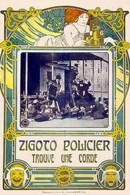 Zigoto, policier, trouve une corde 1911