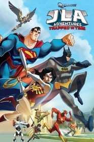 Poster JLA Adventures: Trapped in Time 2014