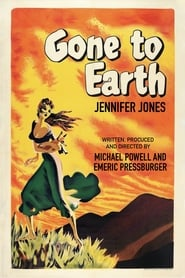 Poster Gone to Earth 1950