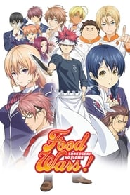 Poster Food Wars! - The Second Plate 2019