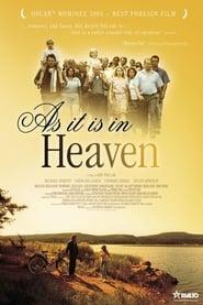 Poster As It Is in Heaven 2004