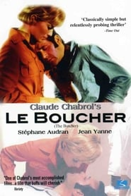 DVD cover image for Le boucher  ( The butcher)