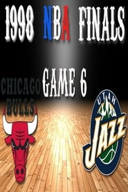 Poster of 1998 NBA Finals, Game 6: Chicago Bulls vs. Utah Jazz