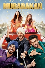 Mubarakan (2017) Bluray 480p, 720p