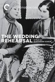 Wedding Rehearsal (1932)