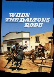 Poster When the Daltons Rode 1940