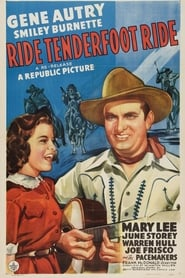 Ride, Tenderfoot, Ride