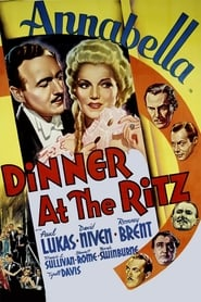 Dinner at the Ritz
