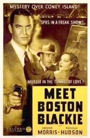 Meet Boston Blackie plakat