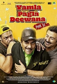 Yamla Pagla Deewana: Phir Se 2018 Hindi Movie Zee5 WebRip 300mb 480p 1GB 720p 3GB 1080p