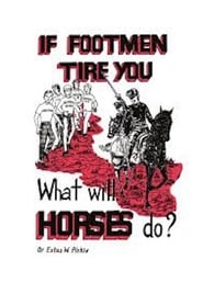 If Footmen Tire You, What Will Horses Do? (1971)