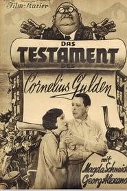 Das Testament des Cornelius Gulden